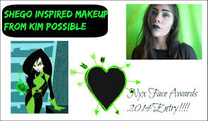 shego from kim possible makeup youtube