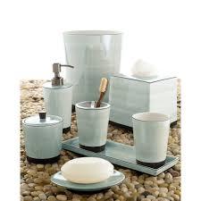 Porcelain Bathroom Accessories by Kassatex Tribeka Bath Accessories Collection Seafoam Hayneedle