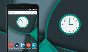 analog clock widgets for android multicolor analog clock widget for android and devices