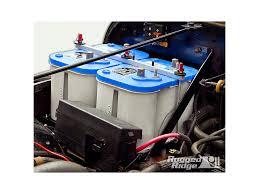 1995 jeep battery rugged ridge wrangler dual battery tray kit 11214 51 91 95