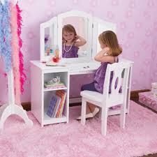 Teenager Vanity Table Amazing Kidkraft Deluxe Dressing Table Chair In White Costco