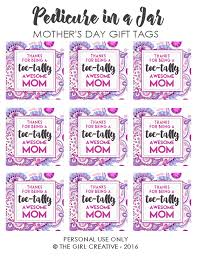 awesome mothers day gifts toe tally awesome s day tags the girl creative