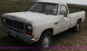 1985 dodge ram truck 1985 dodge power ram truck item c3543 sold wedne
