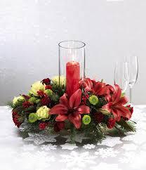 christmas candle arrangements amazing christmas table centerpiece
