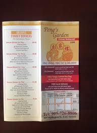 Family Garden Chinese Restaurant - peng u0027s garden chinese restaurant home aurora ontario menu