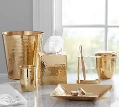 bathroom canisters u0026 accessories pottery barn