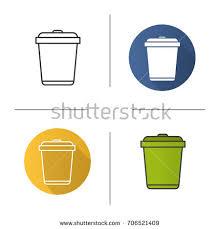 Yellow Wastebasket Wastebasket Stock Images Royalty Free Images U0026 Vectors Shutterstock