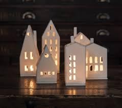 small tea light candles small windows porcelain tea light house qwerky homeqwerky home