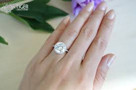 10mm diamond 4 25 carat halo gatsby engagement ring 10mm flawless