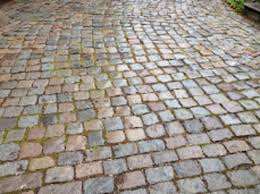 reclaimed cobblestones old used paving cobbles european porhyry