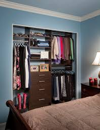 entrancing custom closets phoenix roselawnlutheran chocolate pear reach in closet with modern drawers