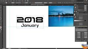 how to design a desk how to create a desk calendar in adobe illustrator 2018 youtube