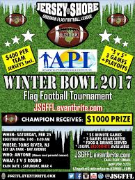 Flag Football Leagues Winter Bowl 2017 Round Robin Flag Football Tournament