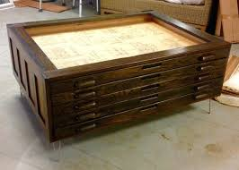 Reclaimed Wood File Cabinet Coffee Table The Before Story Class Repurpose Glass Top For House
