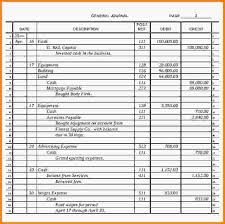 general ledger template general journal template example jpeg