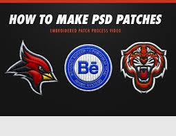 Flag Badges Embroidered How To Make Psd Embroidered Patches Free Psd Assets On Behance