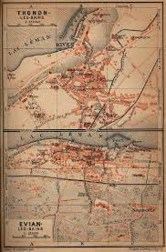 Map Southern France