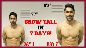 how to grow taller in a week how to grow taller in 1 week this really works youtube