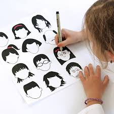 blank faces drawing page u2013 free printable free printable face