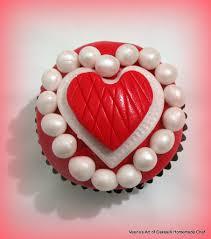 valentine heart inspired plus stenciled cupcakes veena azmanov