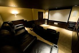 How To Decorate Home Theater Room How To Create A Home Theater Room Decor And Lighting Tips From Fabby