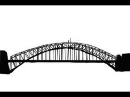 how to draw a bridge step by step youtube