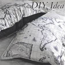 Map Bedding Map Fabric