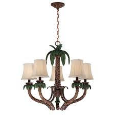 Tree Chandelier Palm Tree Chandelier Is A Truly Tropical Light Fixture