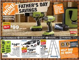leaked home depot black friday leaked 2016 ad home depot ad deals 6 6 6 12 father u0027s day savings sale