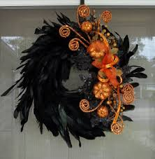 Halloween Wreath Supplies by How To Make A Tulle Halloween Wreath Wreaths Black And Holidays