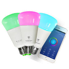 Led Wifi Light Bulb by Wifi Led Bulb Dimmer Smart Rgbw Light Bulbs Remote Control Wifi