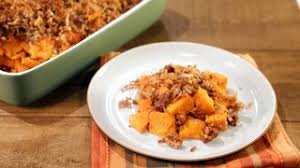 yam pecan crumble recipe the chew abc