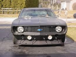69 camaro flat black nick ostas 69 camaro makes use of cubic inches chevy