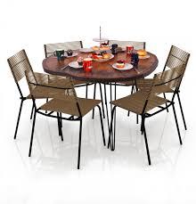yemek masasi purupa yuvarlak kütük yemek masası