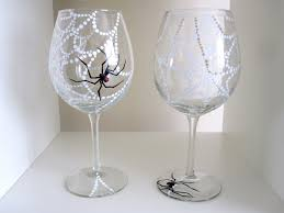 beautiful painted wine glasses halloween 19 about remodel with