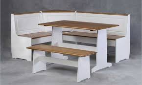 luxury white kitchen table sets with bench kitchen table sets