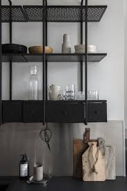Sliding Racks For Kitchen Cabinets Kitchen Classy Sliding Drawers For Cabinets Open Wall Shelving