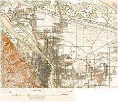 Us Map Topography Portland Oregon Topographic Map Oregon Map