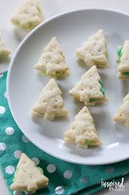 cream wafer tree cookies inspired by charm