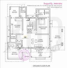 contemporary home floor plans elevation and floor plan of contemporary home indian house plans