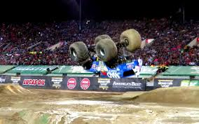 monster truck video for monster truck pulls off first ever successful front flip trick
