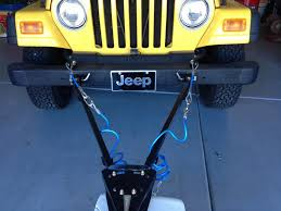 how to properly tow your jeep wrangler tj jeep wrangler tj forum