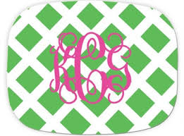 monogrammed platters preppy melamine monogrammed platter these are awesome such a