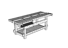Popular Woodworking Roubo Bench Plans by Sketchup For Woodworkers Workbench Plans U0026 Bench Projects