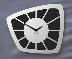 wanduhr funk kio times design hausnummer hausklingel briefkasten edelstahl