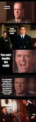 You Can T Handle The Truth Meme - you want answers i want the truth you memerial net