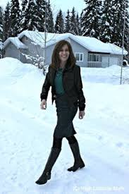 fashionover40 alaska winter casual work high latitude