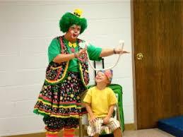 clown show for birthday party greenie the clown birthday