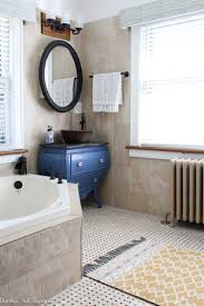 light and bright master bathroom makeover