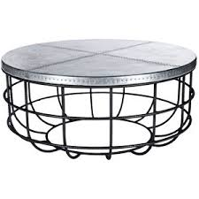 Hammered Metal Coffee Table Hammered Drum Cross Silver Coffee Table Round Glass Top Metal
